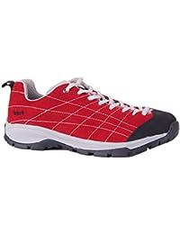 Izas Cadier - Zapatillas de trekking para hombre, color rojo, talla 41