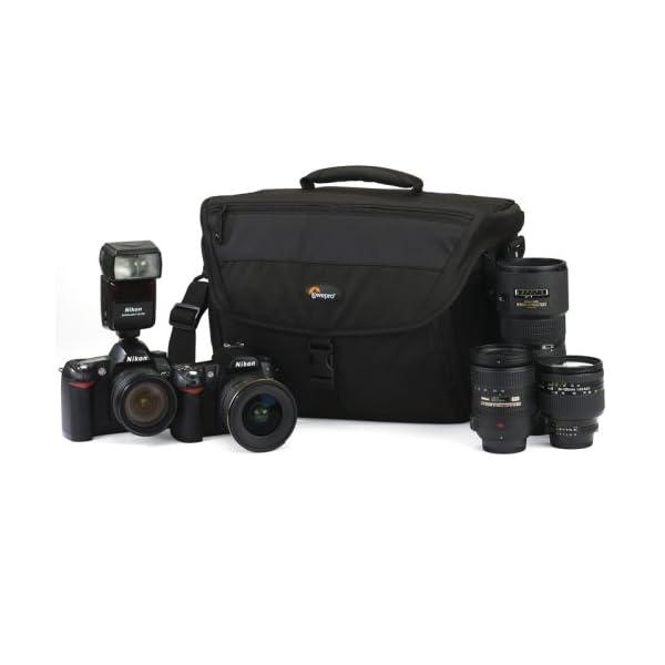 Lowepro Nova 200 AW Borsa a Tracolla per Fotocamera Nero