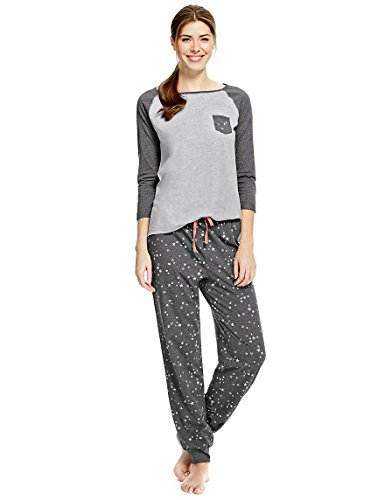 marks-and-spencer-damen-schlafanzug-gr-44-grau