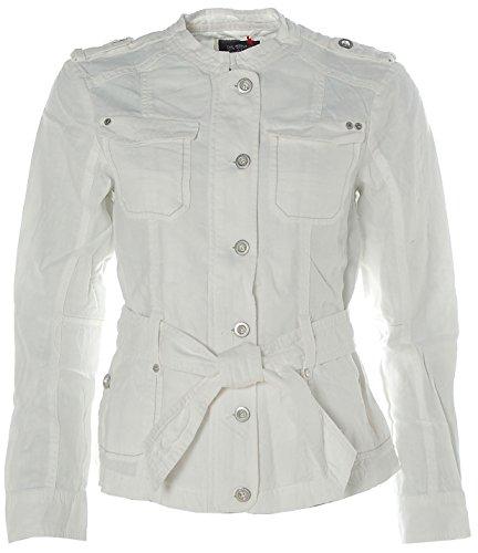 Esprit Damen Leinen Jacke Weiß- verschiedene Farben erhältlich