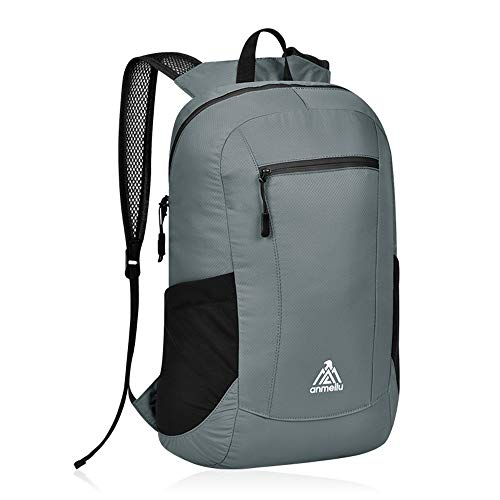TnXan Trekking Rucksacks Folding Backpack ultra-0light Waterproof Portable Camping Daypack Men Women Skin Package Outdoor Mountaineering travel Bags 15L