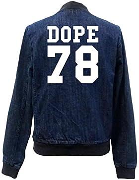 Dope 78 Bomber Chaqueta Girls Jeans Certified Freak