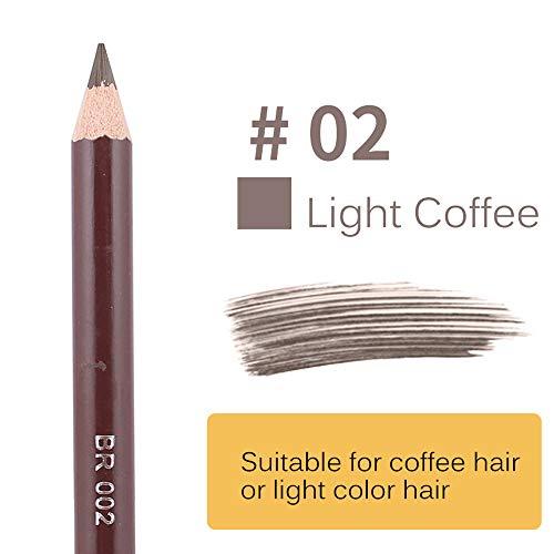 SynthéTique Fusion De Fond De Teint Concealer Eye Visage Liquide Poudre CrèMepinceau Crayon Eyeliner LéOpard ImperméAble Brun Avec Contour Des Yeux Marron Noir Concealer Cosmetics Brush