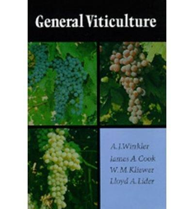 [(General Viticulture)] [Author: A.J. Winkler] published on (March, 1975) par A.J. Winkler