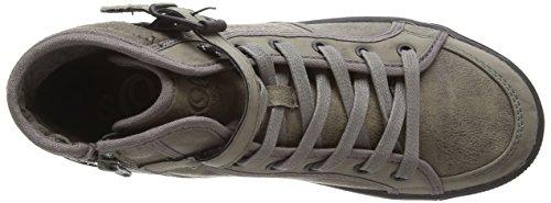 s.Oliver  252, Sneakers Basses femme Marron - Braun (Pepper 324)