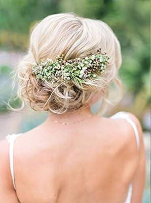 Accessoire pour cheveux bohème, chignon et coiffure de mariage