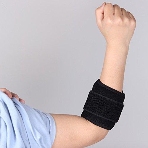 winomo Tennis Golfer Elbow Brace Strap Band entlastet Sehnenentzündung und Unterarm, Schmerzen Ellenbogenbandage Hosenträger für Sports