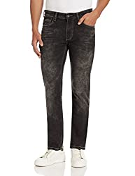 Pepe Jeans Mens Vapour Skinny Jeans (8903872949175_PIM0001350_36W x 34L_Acid Black)