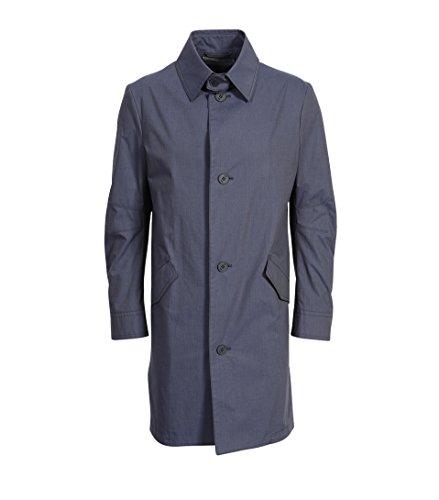 drykorn herren mantel Drykorn Herren Baumwollmantel Shroded in Blau-Schwarz 30 Navy 48
