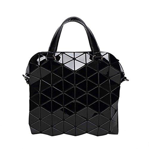 Ladies Handbag Borsa Trend Geometrica Lattice Briefcase Shoulder Bag A