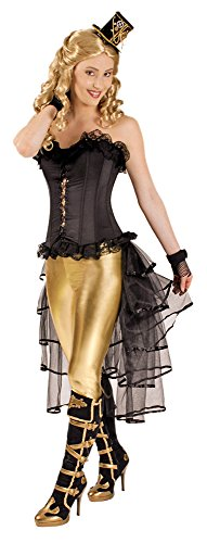 Tournüre Burlesque Petticoat Rock Schwarz,Organza Cabaret Damen (Viktorianischen Motto Kostüm)