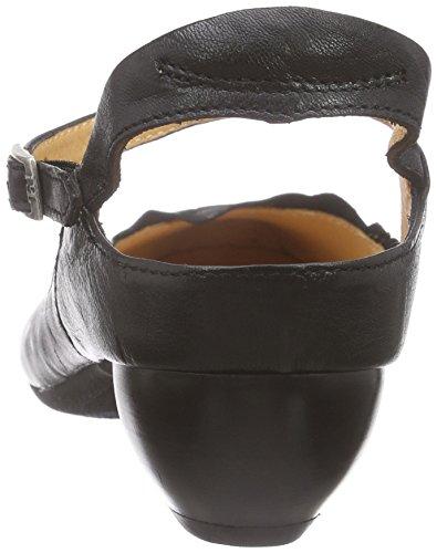 Think - Aida Pumps, Scarpe con cinturino Donna Nero (Schwarz 00)