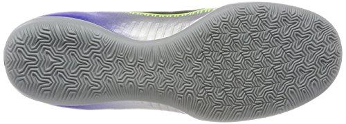 Nike Herren MercurialX Victory VI Njr IC Fußballschuhe Blau (Racer Blue Black Ch R O M E Volt 407)
