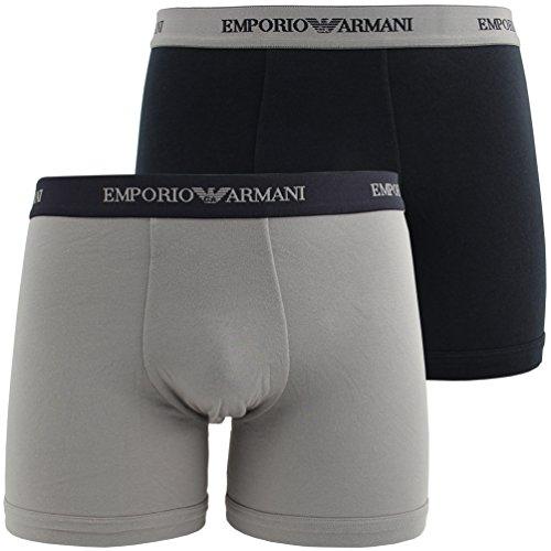 Emporio Armani 2 Pack BoxerBrief CC717 111268 L 13742 etwas länger am Bein