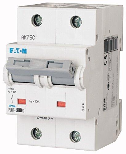 Eaton 248004 LS-Schalter, 80A, 2P, B-Char