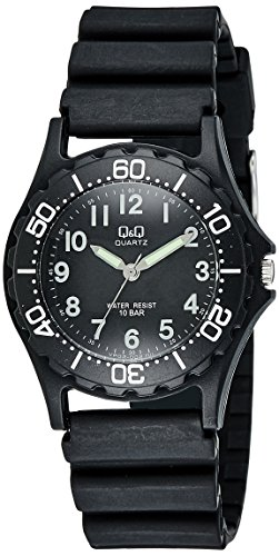 Q&Q Standard Analog Black Dial Men's Watch - VP02-002 image