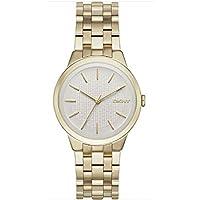 Reloj Dkny Donna Karan Park Slope Ny2382 Mujer Champan de DKNY