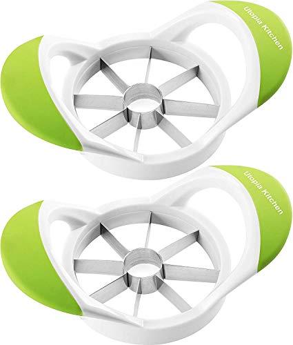 Affettatrice Apple Slicer 2 Pack - Corer - Divisore - Taglierina - Utensile a cuneo - 100% resistente al riposo