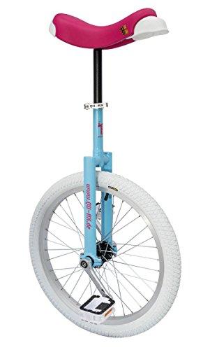 QU-AX Unisex- Erwachsene Einrad, blau, One Size