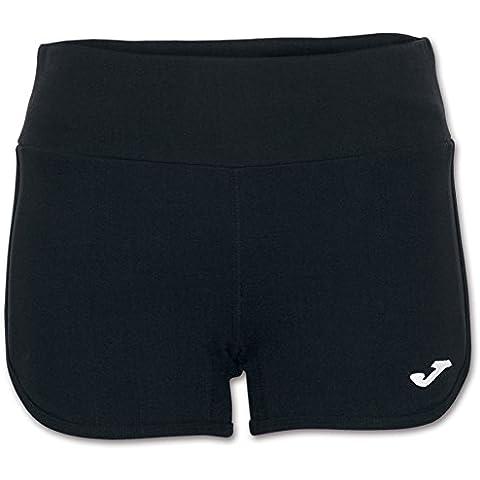Joma Stela - Pantalones cortos para mujer, color negro, talla XL