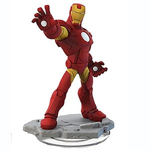 Disney INFINITY: Marvel Super Heroes (2.0 Edition) Iron Man Figure - No Retail Packaging by Disney Interactive Studios