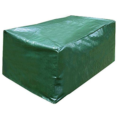 WOLTU GZ1170 Housse de Protection en Polyéthylène pour mobilier de Jardin Imperméable,122x112x98cm, Vert