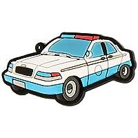 Crocs Police Car Charm Shoe Decoration Charms, Multicolour (-), One Size