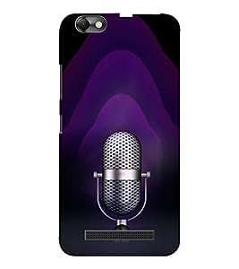 EPICCASE Black Music Mobile Back Case Cover For Lenovo A2020 (Designer Case)