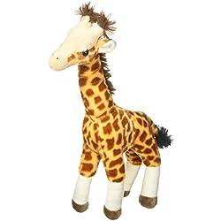 Wild Republic - Peluche Cuddlekins jirafa estando de pie, 43 cm (12760)