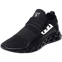 JiaMeng Zapatillas Running para Hombre Aire Libre y Deporte Transpirables Casual Zapatillas de Tenis Casuales,