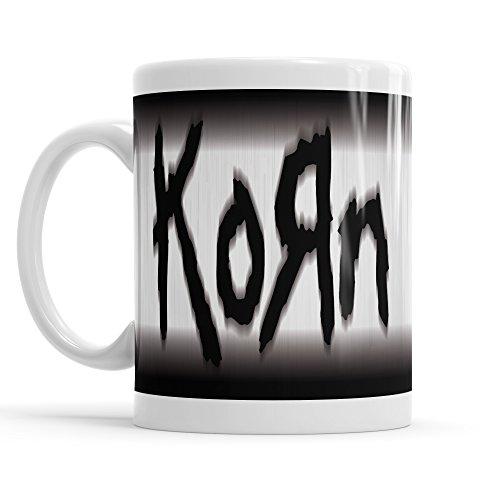 """Tazza MUG """"Korn - Blur Logo"""" - tazza da thè e caffè in ceramica"""