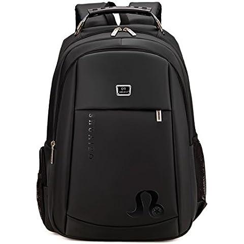 Baymate Colegio Mochila para Ordenador Portátil Laptop Backpack Mochilas de a Diario
