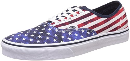 Vans Unisex Authentic Americana, Dress Blues and True White Sneakers - 8 UK/India (42 EU)