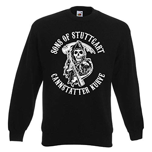 Sons of Stuttgart Cannstatter Kurve Herren Sweatshirt Ultras