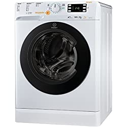 Indesit XWDE 1071481XWKKK EU Autonome Charge avant A Blanc machine à laver avec sèche linge - Machines à laver avec sèche linge (Charge avant, Autonome, Blanc, Gauche, boutons, Rotatif, 71 L)