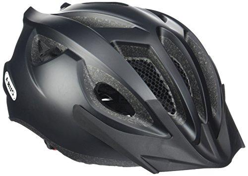 Abus Erwachsene Fahrradhelm S-Cension, velvet black, 54-58 cm, 12902-5