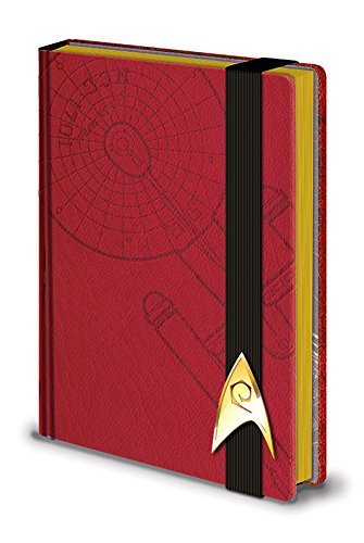 Star Trek Premium Notebook A5 Engineering Red