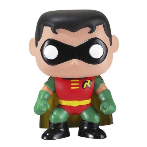 Pop! Heroes PDF00003798 - Robin de Batman, figura de 10 cm (Funko FUNVPOP2209) - Fig-robin cabezon (10cm) batman