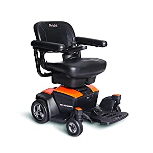 Pride Mobility Go-Chair Mobility Scooter – Compact Transportable Power Scooter – Motorized Mobility Scooter for Adults