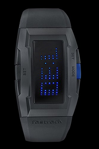 Fastrack Digital Grey Dial Men' sWatch (38014PP01)