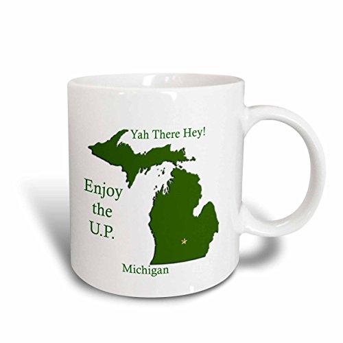 Enjoy maps der beste preis amazon in savemoney mensuk mug570051 enjoy the up michigan with da yoopers map of michigan ceramic mug gumiabroncs Gallery