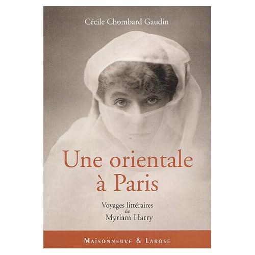 Myriam Harry : Une orientale à Paris