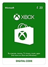 Xbox Live £20 Credit [Xbox Live Download Code]