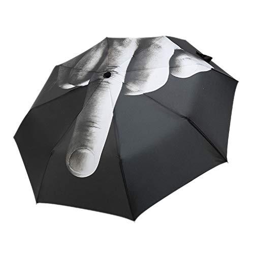 Floridivy portatile manuale nero freddo 3 ombrello pieghevole personalizzati pieghevole pioggia ombrellone rainy accssories