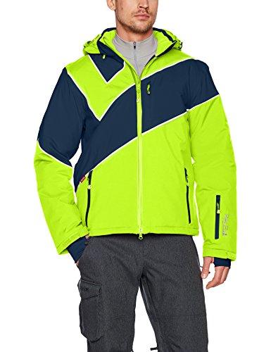 Fifty Five Saint Andrews Herren Skijacke Snowboardjacke Grün (Jasmine Green/Nightblue 006)