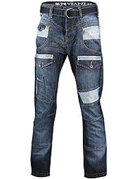Peviani - Jeans - Homme bleu noir foncé Taille unique