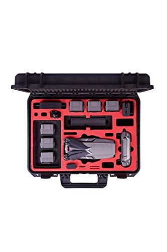 MC-CASES® Koffer für DJI Mavic 2 Pro & Zoom - EXPLORER EDITION - mit viel Platz für Zubehör (Smart Controller + Standard Controller) - Made in Germany