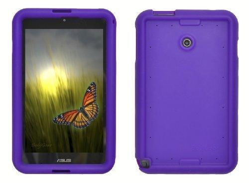 Bobj Silikon-Hulle Heavy Duty Tasche fur ASUS VivoTab Note 8 Tablette M80TA - BobjGear Schutzhulle (Violett)