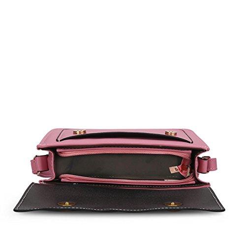 Valin S701 Damen 2018 Mode PU Schultertaschen,Umhängetaschen,Henkeltaschen,24x17x8(BxHxT) Rosa