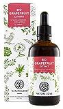 NATURE LOVE® Bio Grapefruitkernextrakt. 1200mg Bioflavonoide / 100ml. Laborgeprüft und Bio zertifiziert. Grapefruit Extrakt aus Kern und Schale. Hochdosiert, vegan und hergestellt in Deutschland